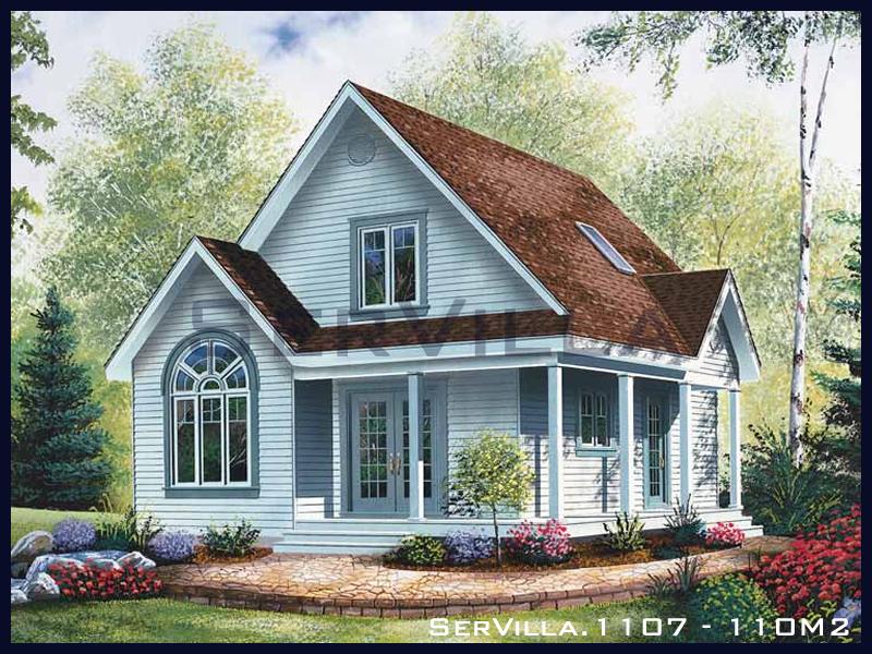 110 m2 Çelik Konstrüksiyon Villa Modeli 7