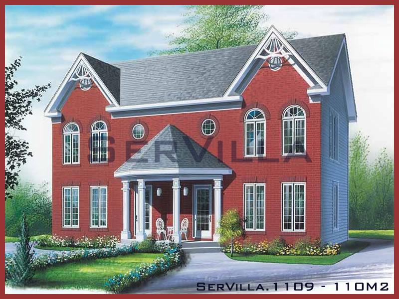 110 m2 Çelik Konstrüksiyon Villa Modeli 9