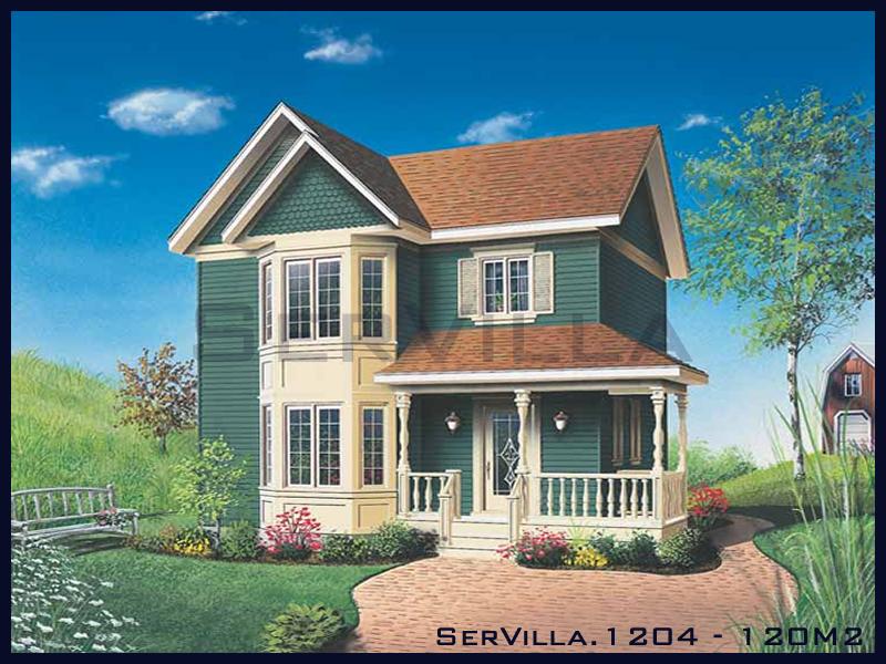 120 m2 Çelik Konstrüksiyon Villa Modeli 4