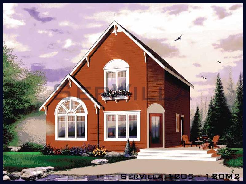 120 m2 Çelik Konstrüksiyon Villa Modeli 5