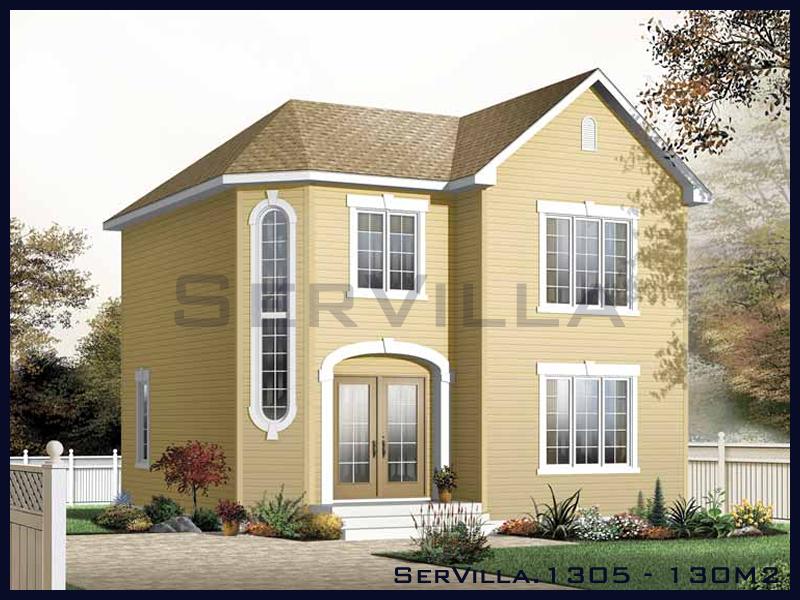 130 m2 Çelik Konstrüksiyon Villa Modeli 5
