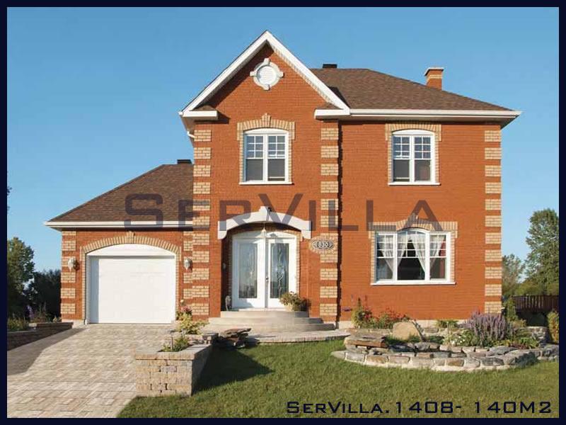 140 m2 Çelik Konstrüksiyon Villa Modeli 8