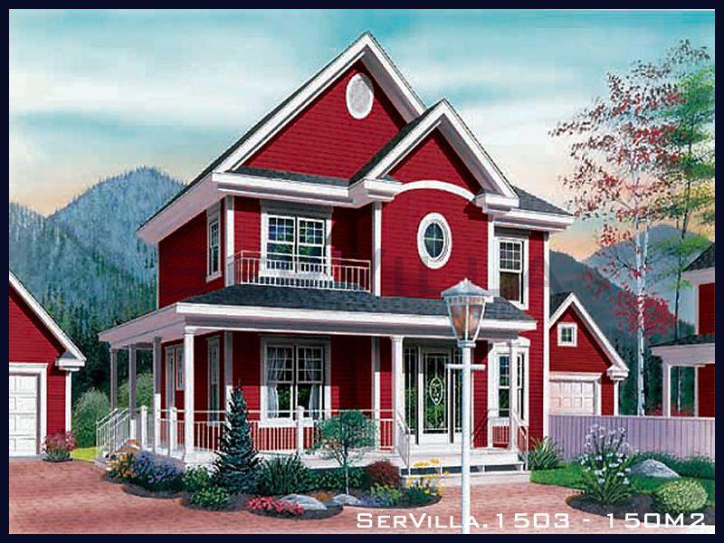 150 m2 Çelik Konstrüksiyon Villa Modeli 3