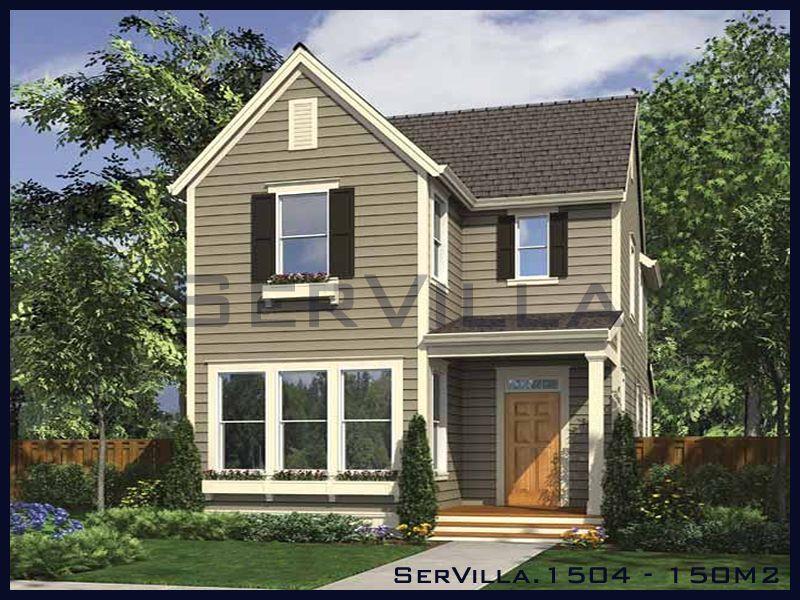 150 m2 Çelik Konstrüksiyon Villa Modeli 4