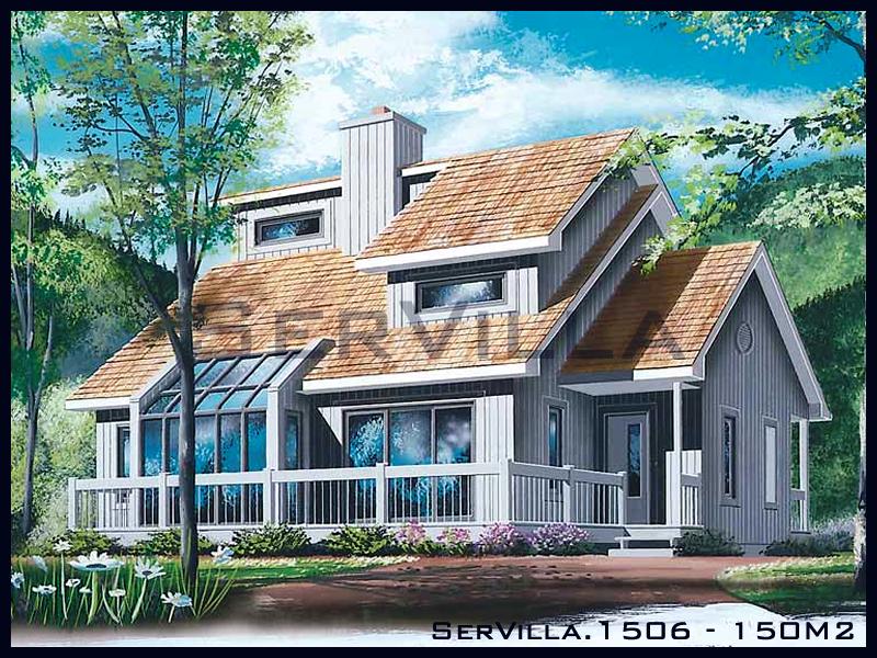 150 m2 Çelik Konstrüksiyon Villa Modeli 6