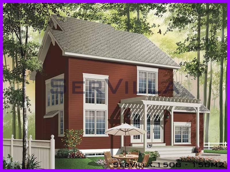 150 m2 Çelik Konstrüksiyon Villa Modeli 8