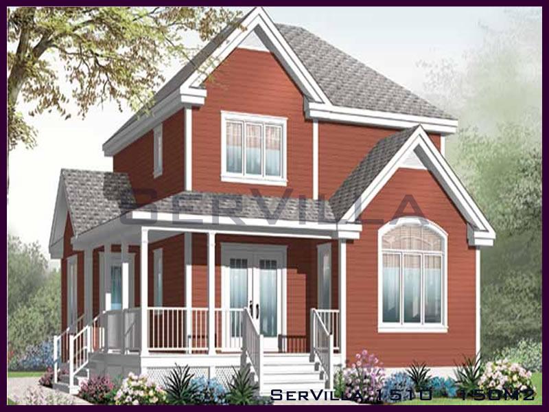 150 m2 Çelik Konstrüksiyon Villa Modeli 10
