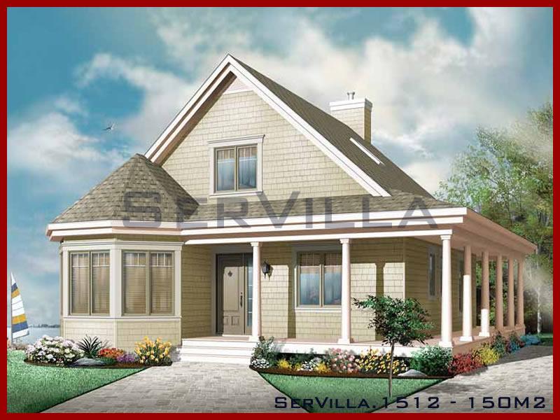 150 m2 Çelik Konstrüksiyon Villa Modeli 12