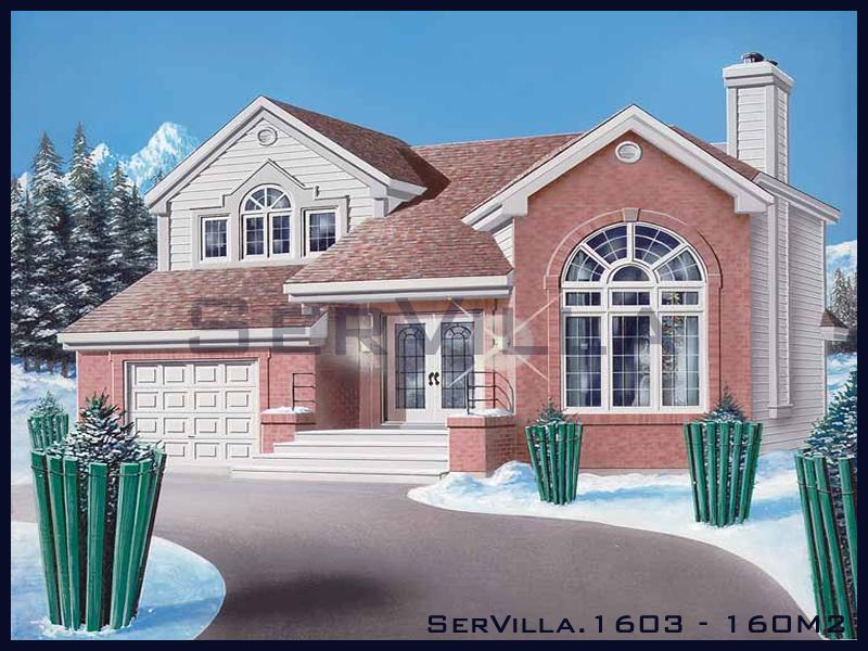 160 m2 Çelik Konstrüksiyon Villa Modeli 3