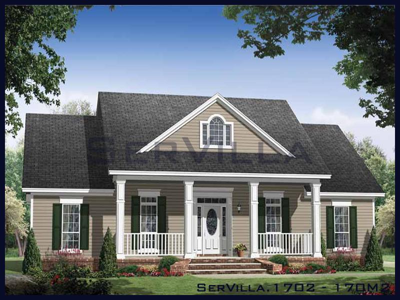 170 m2 Çelik Konstrüksiyon Villa Modeli 2