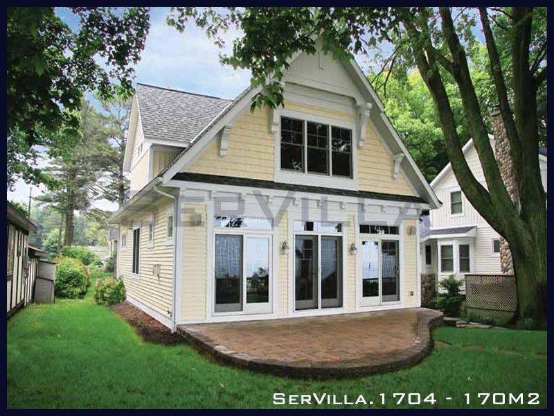 170 m2 Çelik Konstrüksiyon Villa Modeli 4