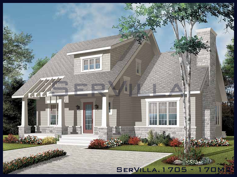 170 m2 Çelik Konstrüksiyon Villa Modeli 5