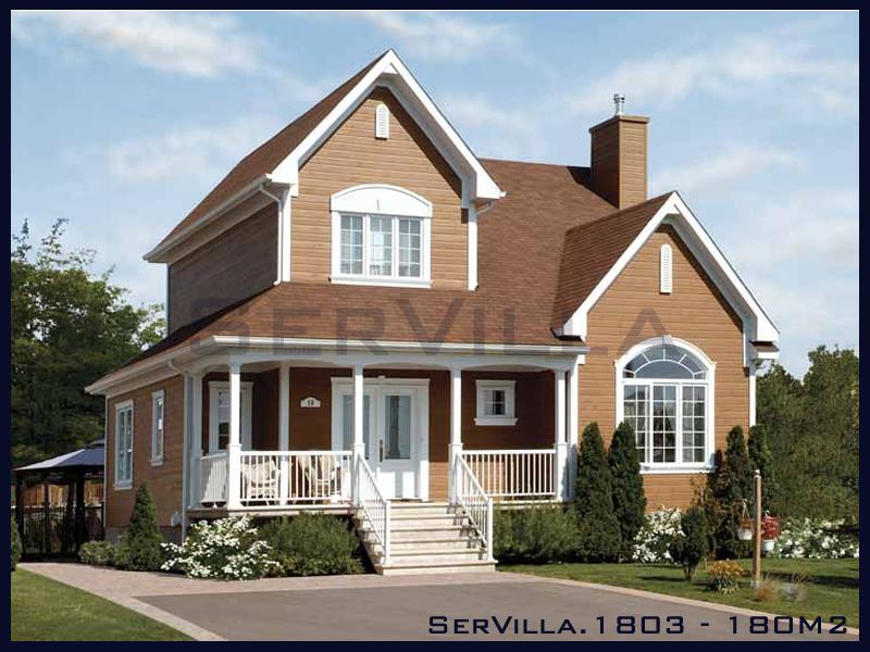 180 m2 Çelik Konstrüksiyon Villa Modeli 3