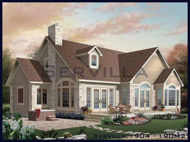 190 m2 Çelik Konstrüksiyon Villa Modeli 4