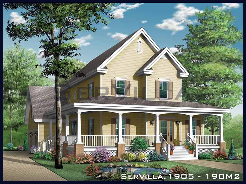190 m2 Çelik Konstrüksiyon Villa Modeli 5