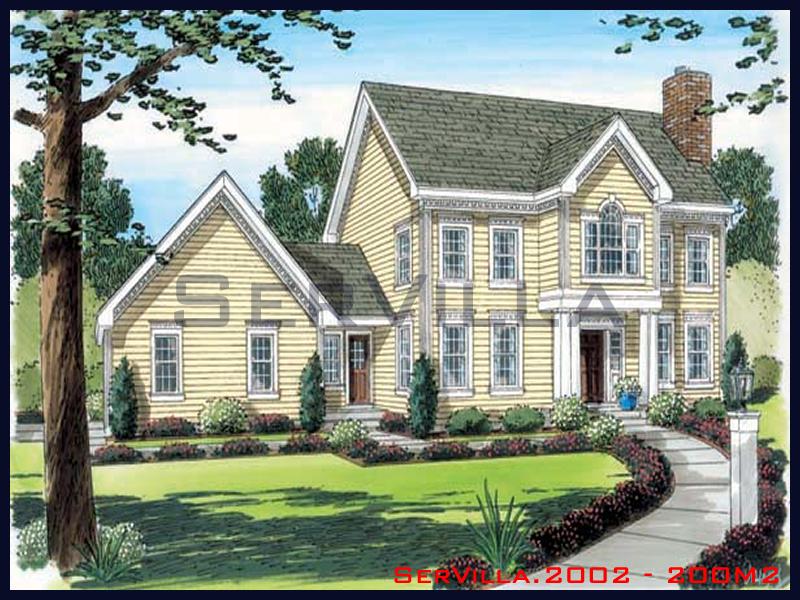 200 m2 Çelik Konstrüksiyon Villa Modeli 2