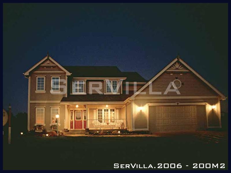 200 m2 Çelik Konstrüksiyon Villa Modeli 6