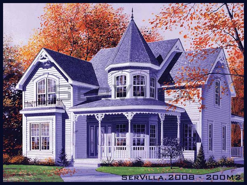 200 m2 Çelik Konstrüksiyon Villa Modeli 8