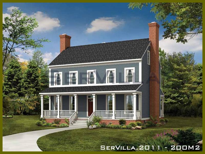 200 m2 Çelik Konstrüksiyon Villa Modeli 11