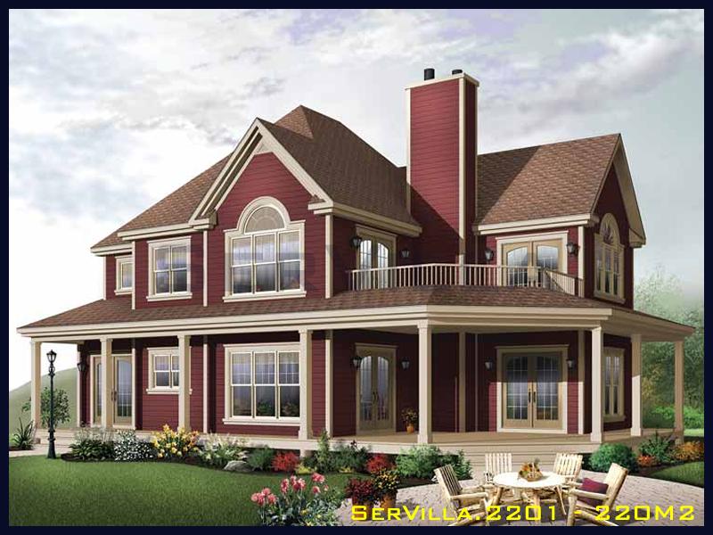 220 m2 Çelik Konstrüksiyon Villa Modeli 1