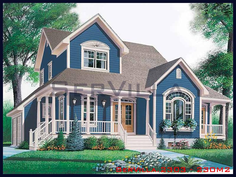 230 m2 Çelik Konstrüksiyon Villa Modeli 3