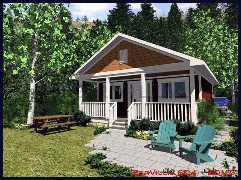 60 m2 Çelik Konstrüksiyon Villa Modeli 4
