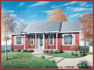 100 m2 Çelik Konstrüksiyon Villa Modeli 9