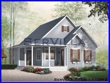 110 m2 Çelik Konstrüksiyon Villa Modeli 8