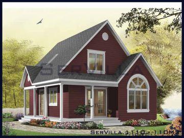 110 m2 Çelik Konstrüksiyon Villa Modeli 10
