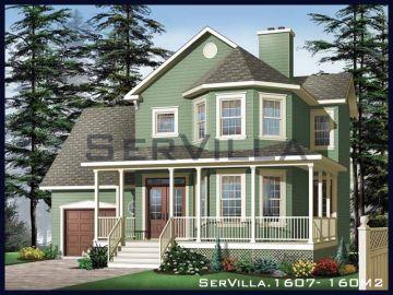 160 m2 Çelik Konstrüksiyon Villa Modeli 7