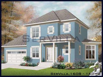 160 m2 Çelik Konstrüksiyon Villa Modeli 8