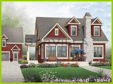 180 m2 Çelik Konstrüksiyon Villa Modeli 10
