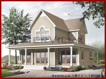 180 m2 Çelik Konstrüksiyon Villa Modeli 11